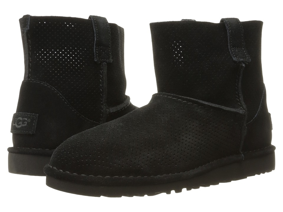 UGG Classic Unlined Mini Perf (Black) Women