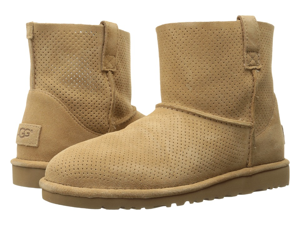 UGG Classic Unlined Mini Perf (Tawny) Women