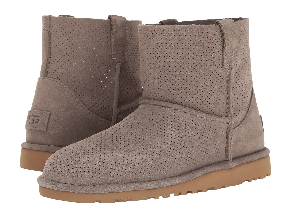 UGG Classic Unlined Mini Perf (Mole) Women