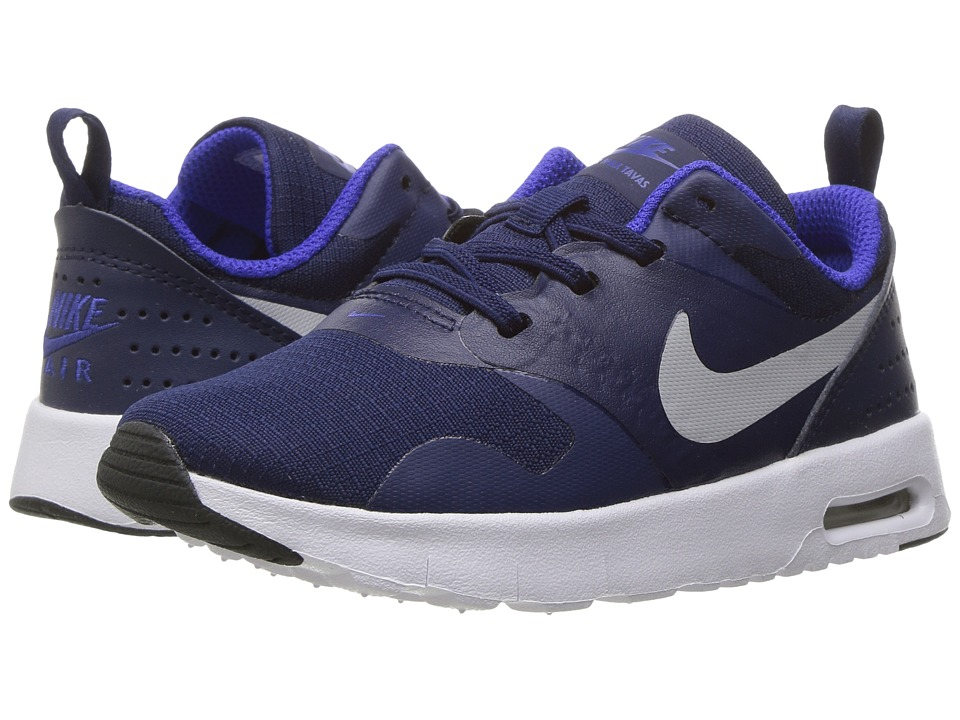 Nike Kids Air Max Tavas (Infant/Toddler) (Binary Blue/Wolf Grey/Paramount Blue) Boys Shoes