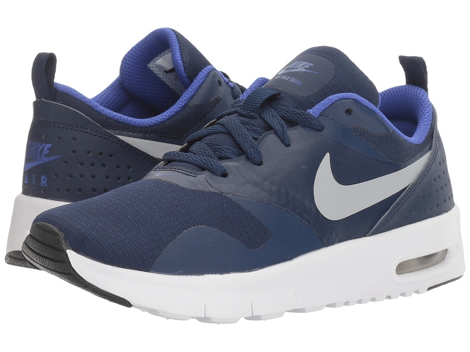 Nike Kids Air Max Tavas (Little Kid) (Binary Blue/Wolf Grey/Paramount Blue) Boys Shoes