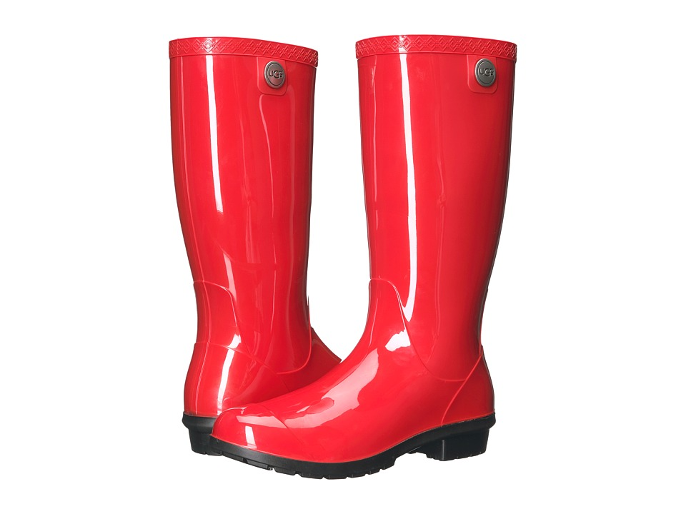 Vintage Style Boots, Retro Boots, Granny Boots, Fur Top Boots UGG - Shaye Tango Womens Rain Boots $79.95 AT vintagedancer.com