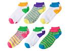 Multi Stripe Low Cut Socks 6-Pair Pack (Toddler/Little Kid/Big Kid)