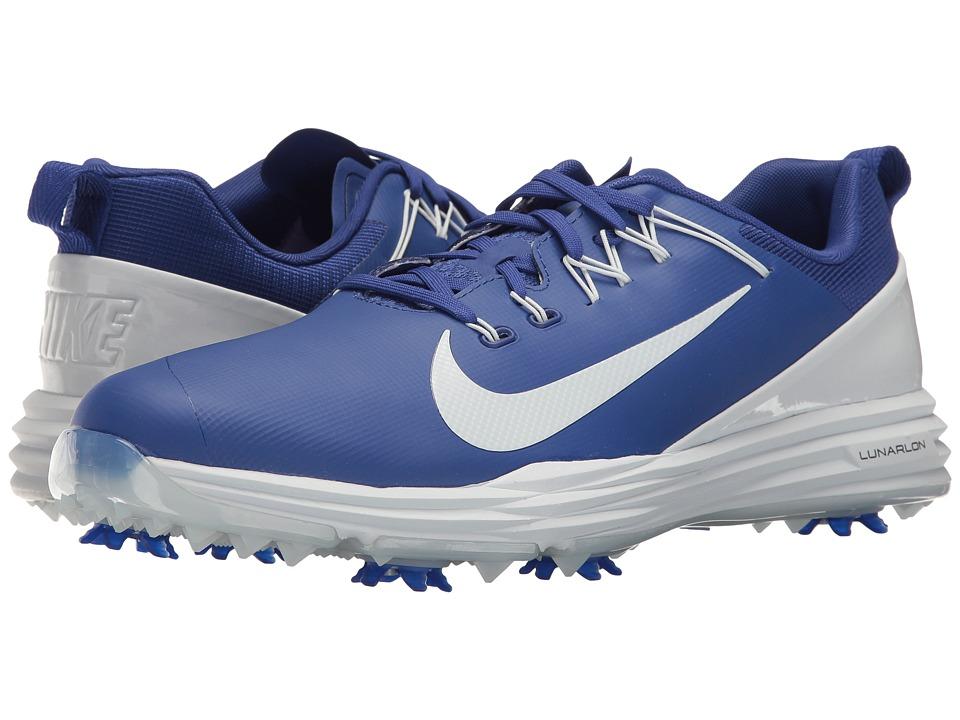 Nike Golf Lunar Command 2 (Deep Night/Pure Platinum) Men