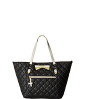 Betsey Johnson - Diamond Quilt Tote with Pouch