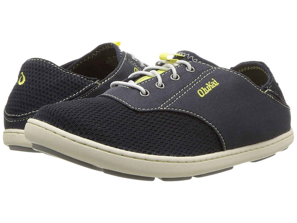 OluKai Kids - Nohea Moku (Toddler/Little Kid/Big Kid) (Trench Blue/Trench Blue) Boys Shoes