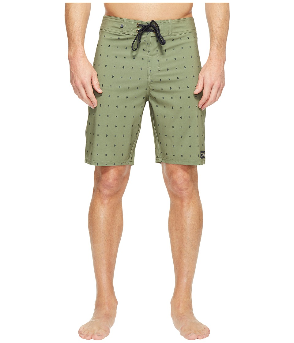 United By Blue River Bed Boardshorts (Olive) Men