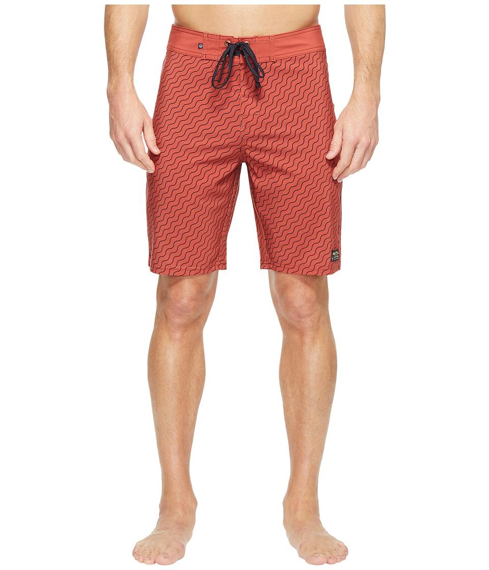 United By Blue Stillwater Boardshorts (Orange) Men