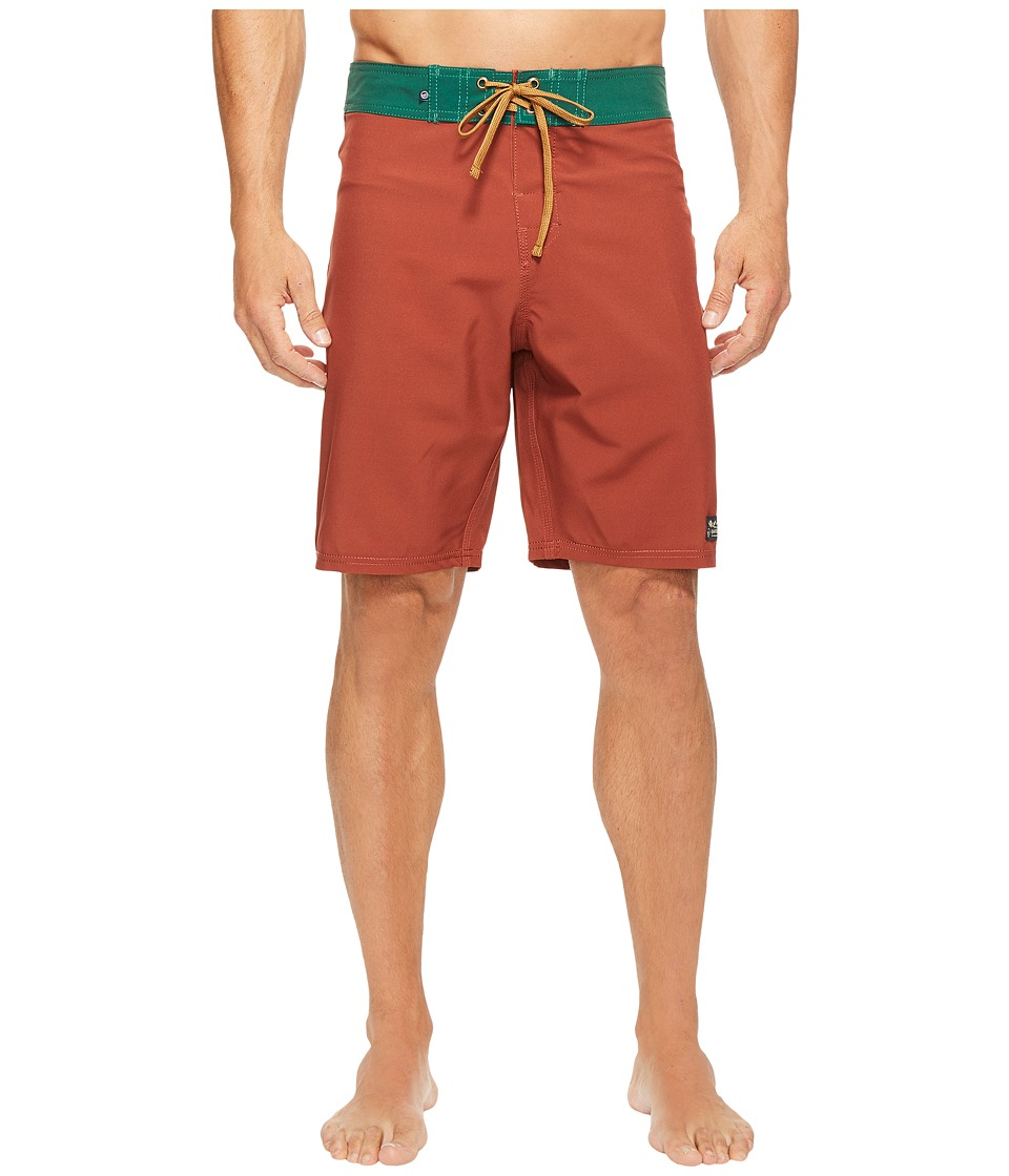 United By Blue Classic Trailblaze Boardshorts (Orange) Men