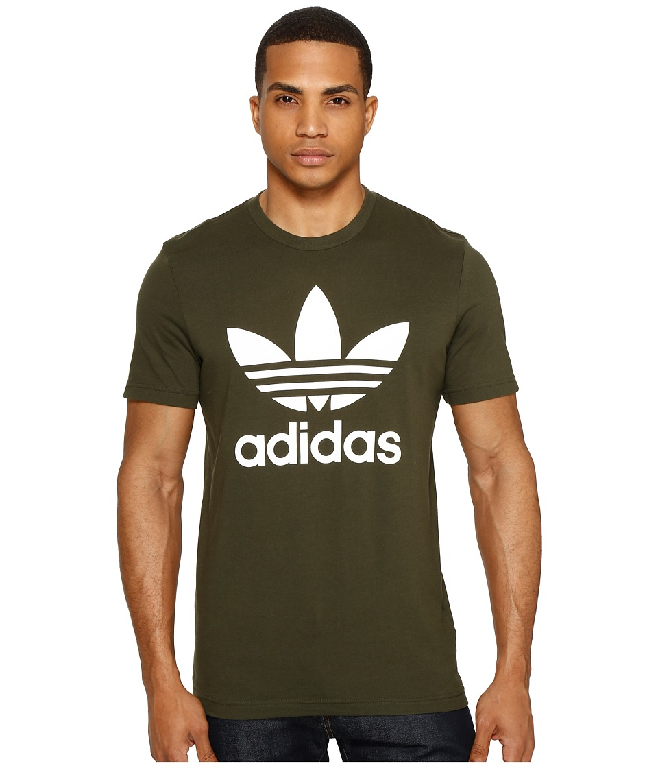 adidas Originals Originals Trefoil Tee (Night Cargo) Men