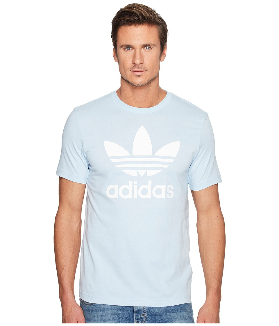adidas Originals Originals Trefoil Tee (Easy Blue) Men