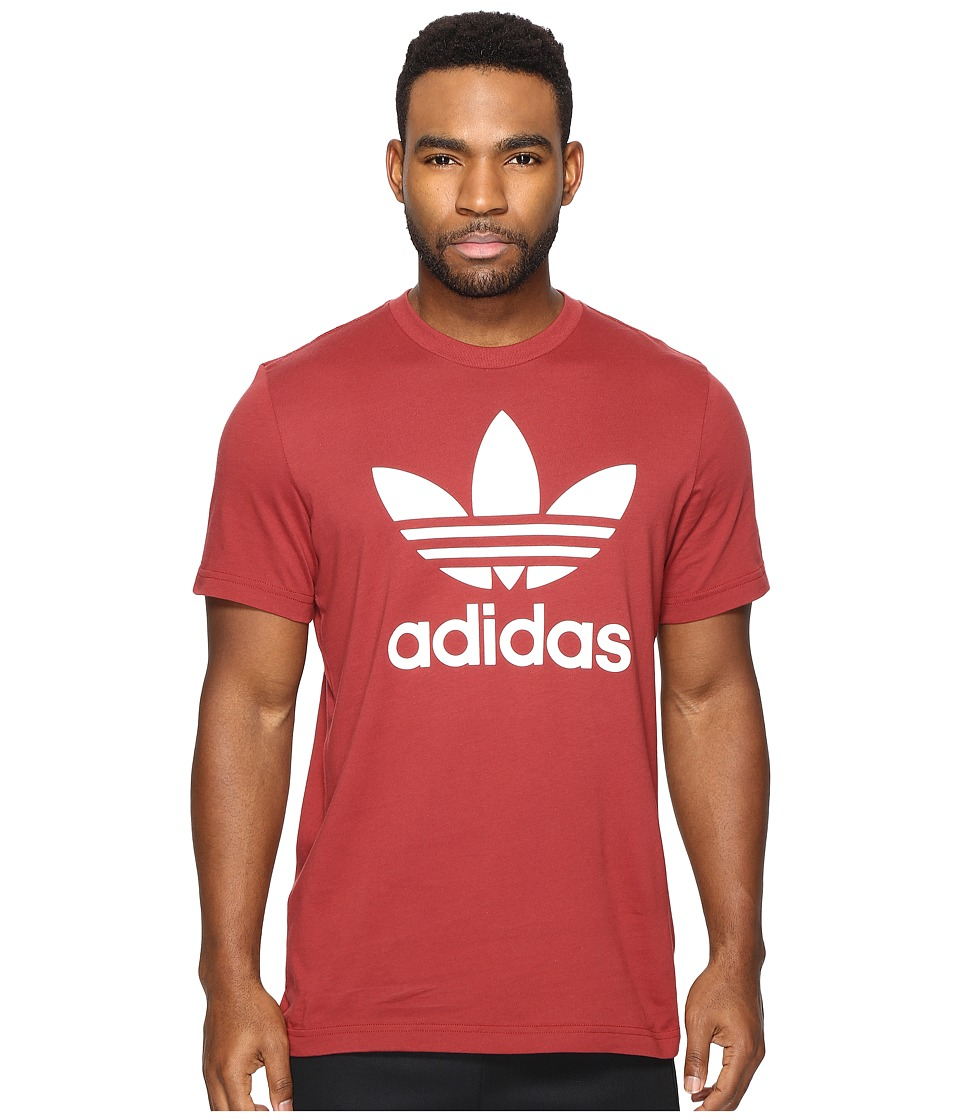 adidas Originals Originals Trefoil Tee (Mystery Red) Men