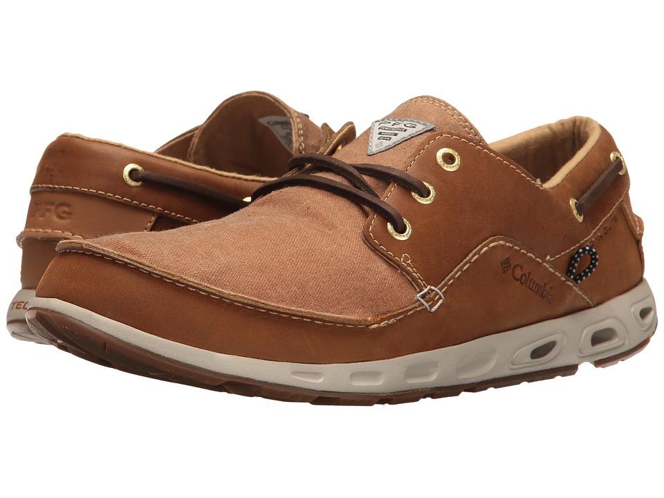 Columbia Super Bahama Boat PFG (Elk/Curry) Men's Shoes