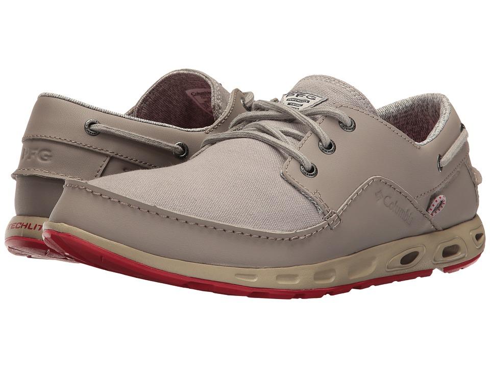 Columbia Bahama Boat PFG (Flint Grey/Rocket) Men's Shoes