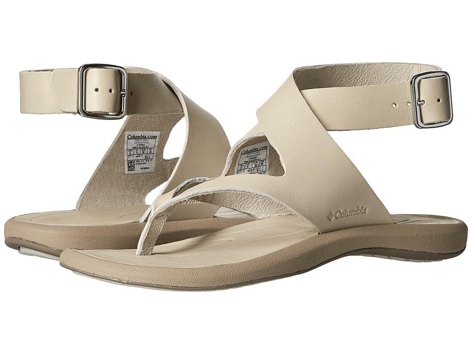 Columbia Caprizee Leather Sandal (Stone/Oxford) Women