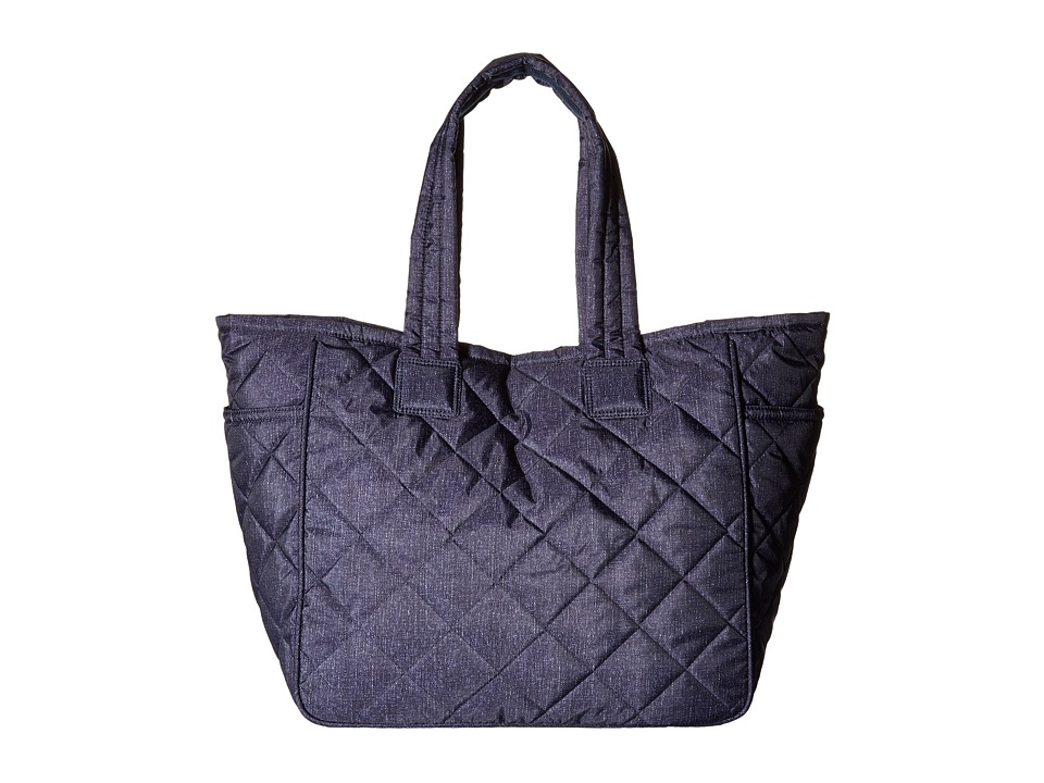 LeSportsac - 2-in-1 Baby Tote (Denim Combo) Tote Handbags