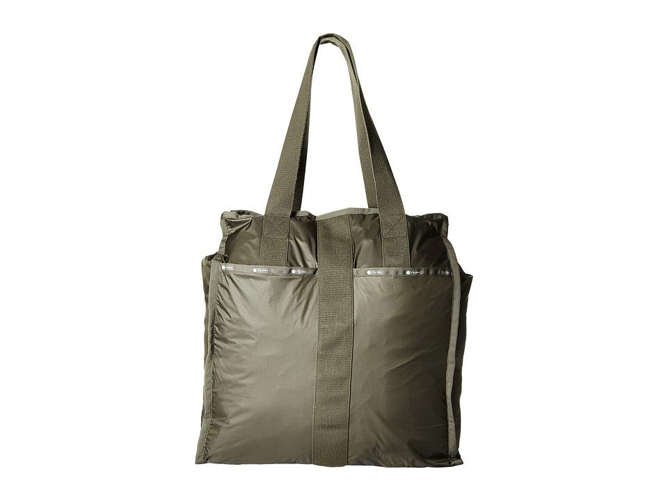 LeSportsac Luggage - Large City Tote (Gravel) Tote Handbags