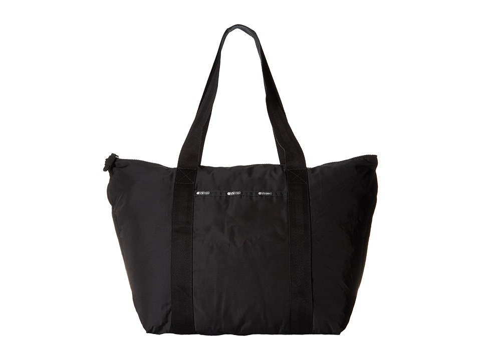 LeSportsac Luggage - Large On The Go Tote (True Black) Tote Handbags