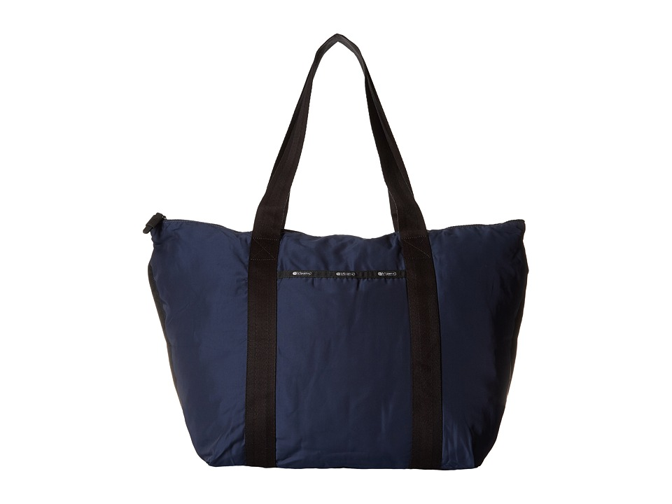 LeSportsac Luggage - Large On The Go Tote (Classic Navy) Tote Handbags
