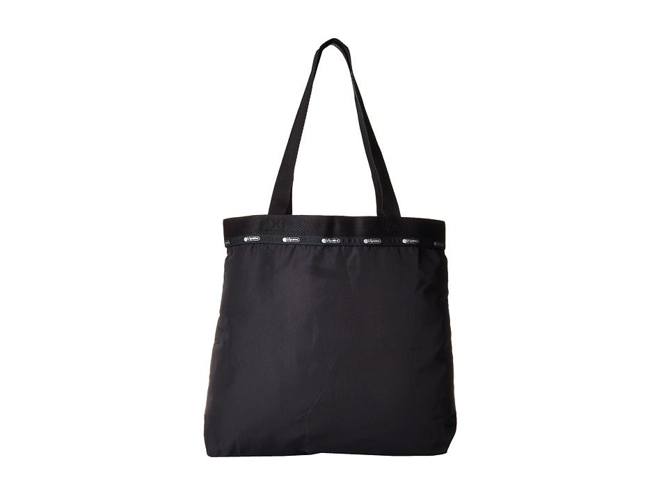 LeSportsac Luggage - Simply Square Tote (True Black) Tote Handbags