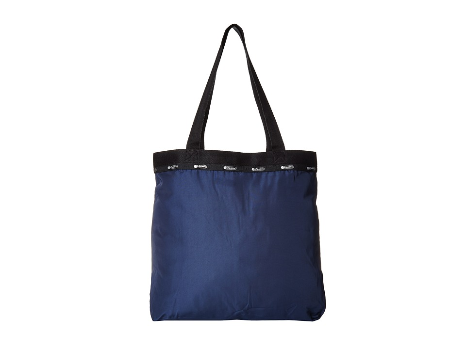 LeSportsac Luggage - Simply Square Tote (Classic Navy) Tote Handbags