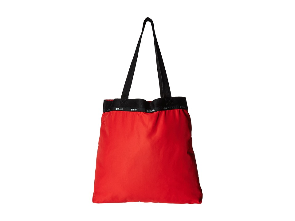 LeSportsac Luggage - Simply Square Tote (Classic Red) Tote Handbags