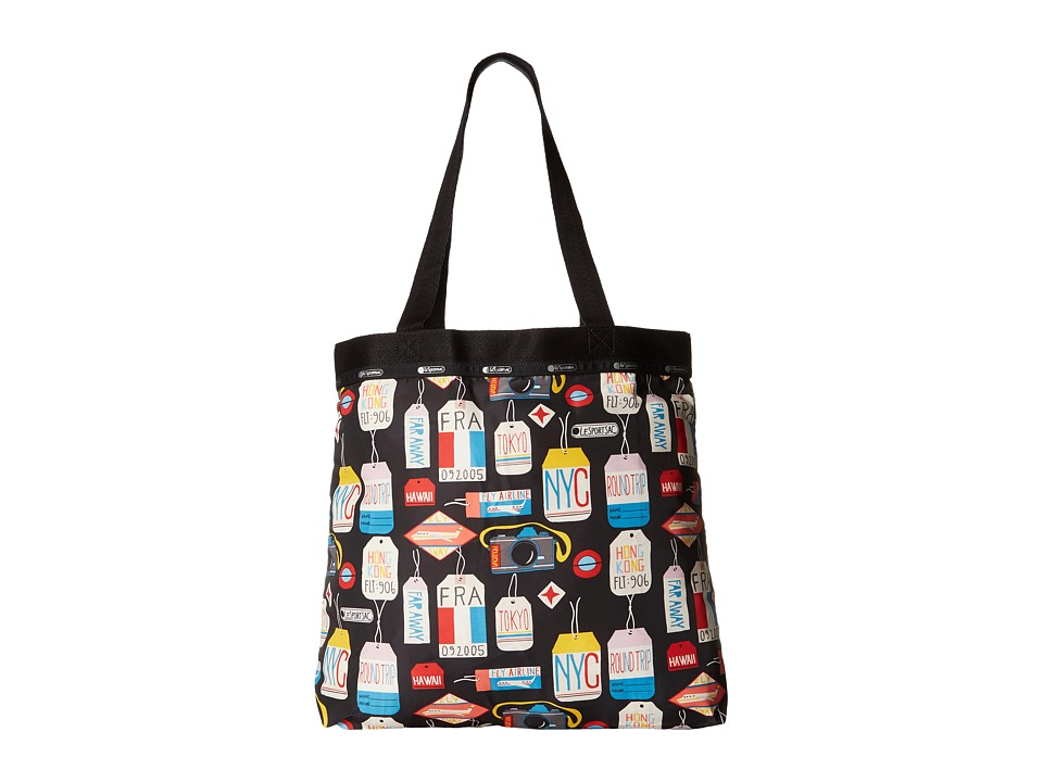 LeSportsac Luggage - Simply Square Tote (Boarding Pass) Tote Handbags
