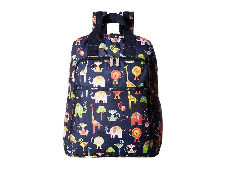 LeSportsac - Baby Utility Backpack (Zoo Cute) Backpack Bags