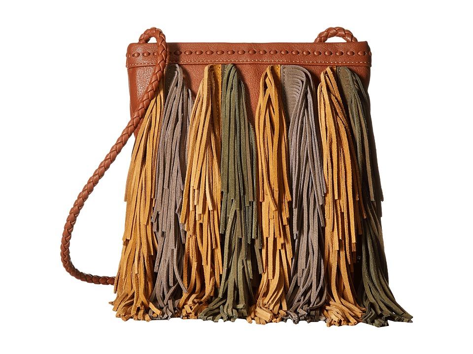 Sam Edelman - Jane Crossbody (Cognac Multi) Cross Body Handbags