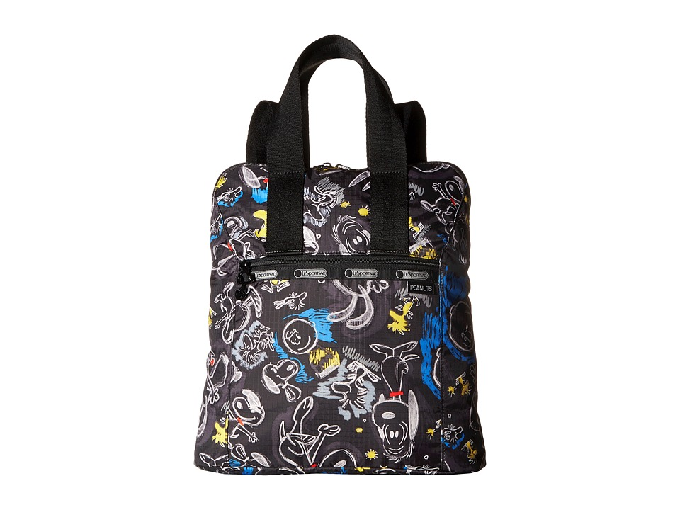 LeSportsac - Everyday Backpack (Chalkboard Snoopy) Backpack Bags