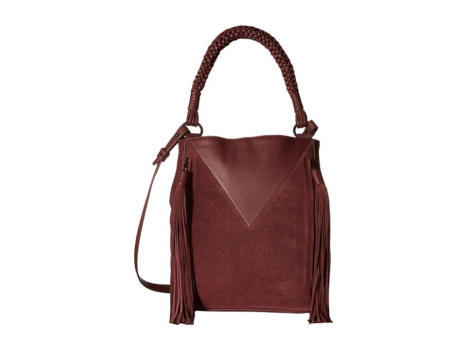 Sam Edelman - Monica Bucket (Portwine) Handbags