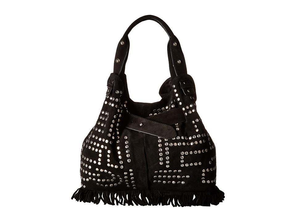 Sam Edelman - Emily Studded Bucket (Black) Handbags