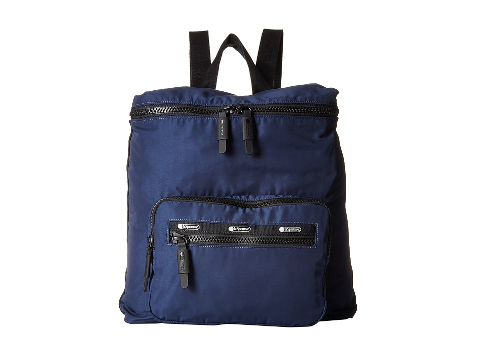 LeSportsac Luggage - Portable Backpack (Classic Navy) Backpack Bags