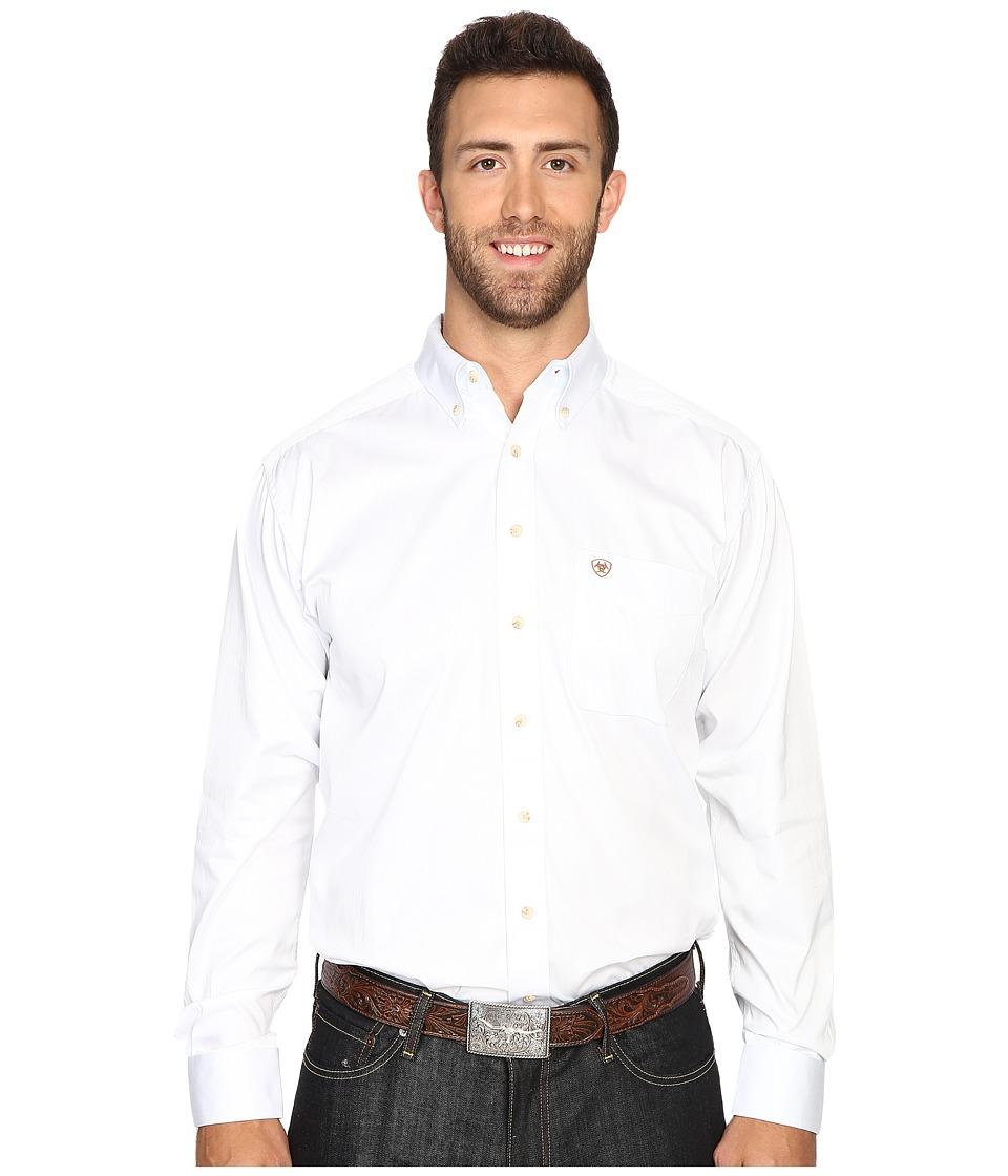 Ariat - Big Tall Solid Twill Shirt