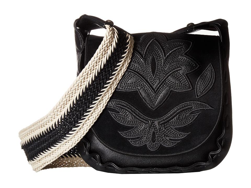 Sam Edelman - Emma Saddle (Black) Handbags