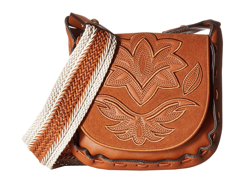 Sam Edelman - Emma Saddle (Cognac) Handbags