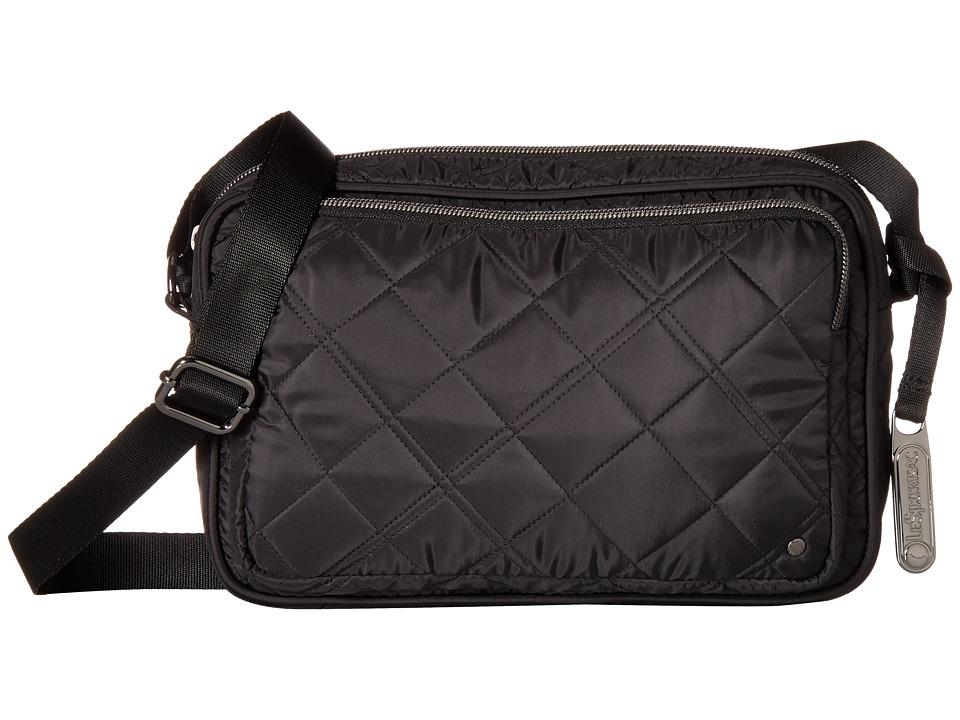 LeSportsac - City Crosby Crossbody (Phantom Black Quilted) Cross Body Handbags