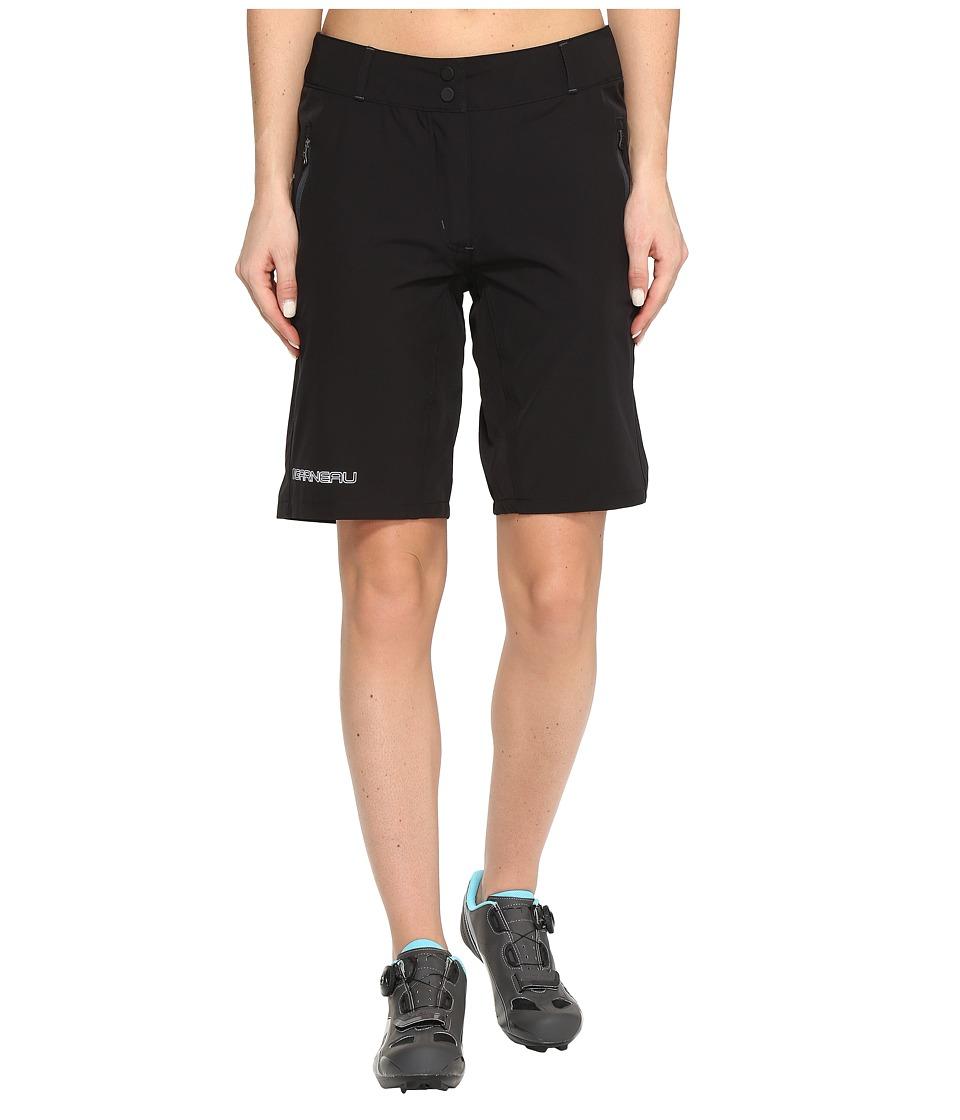 Louis Garneau - Latitude Shorts (Black) Womens Shorts