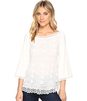 Hale Bob - New Frontiers Mix Media Lace & Jersey Top