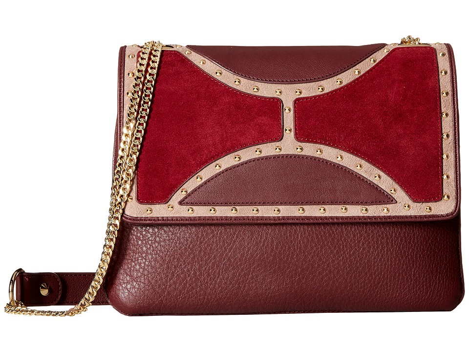 Sam Edelman - Maddy Shoulder (Wine Multi) Shoulder Handbags