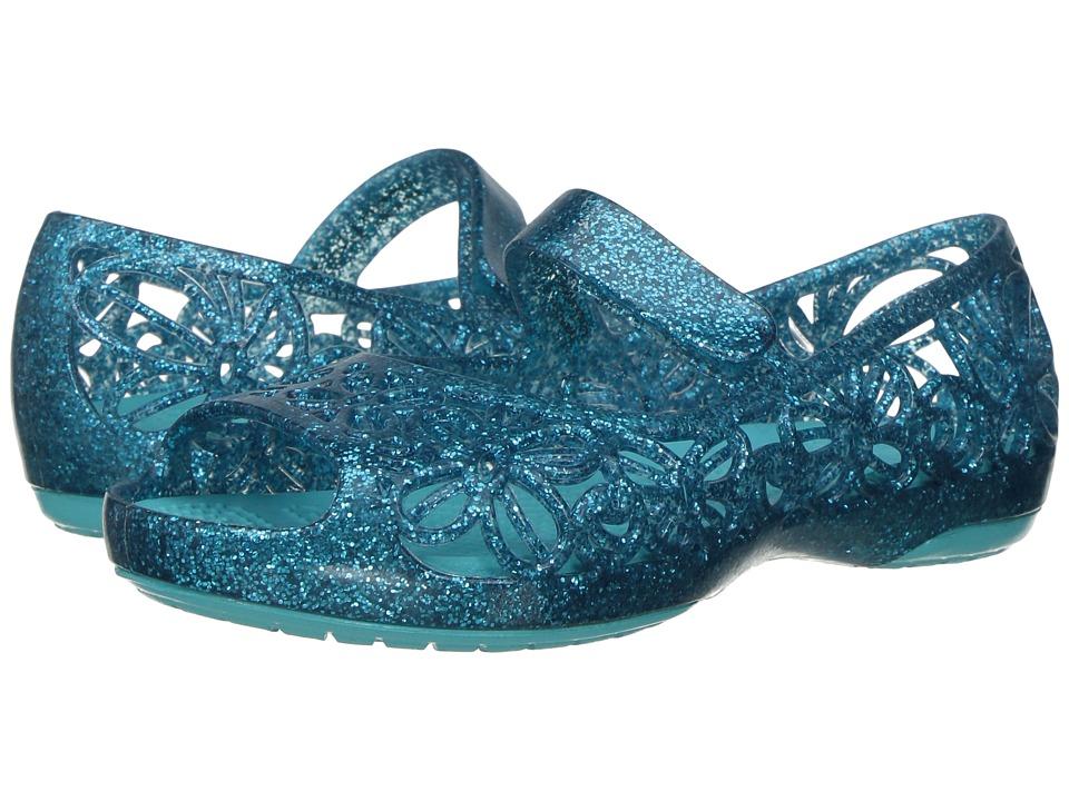 Crocs Kids - Isabella Glitter Jelly Flat PS