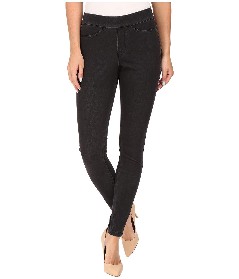 HUE Curvy Fit Jeans Leggings (Graphite Wash) Women