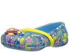 Crocs Kids - Lina Graphic Flat (Toddler/Little Kid)
