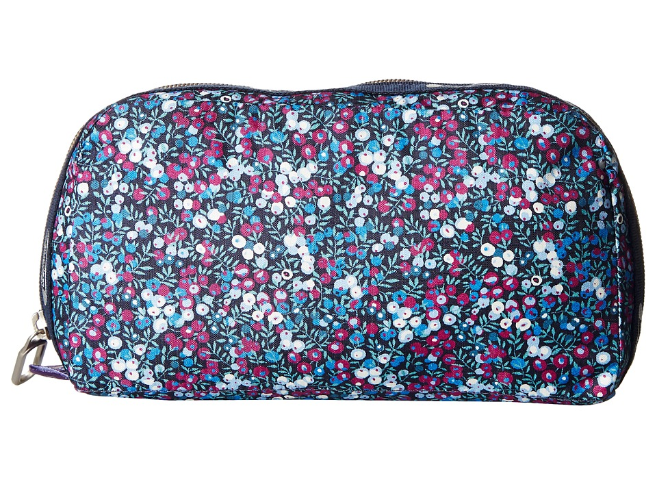 LeSportsac - Essential Cosmetic Case (Bell Berry Blue) Cosmetic Case