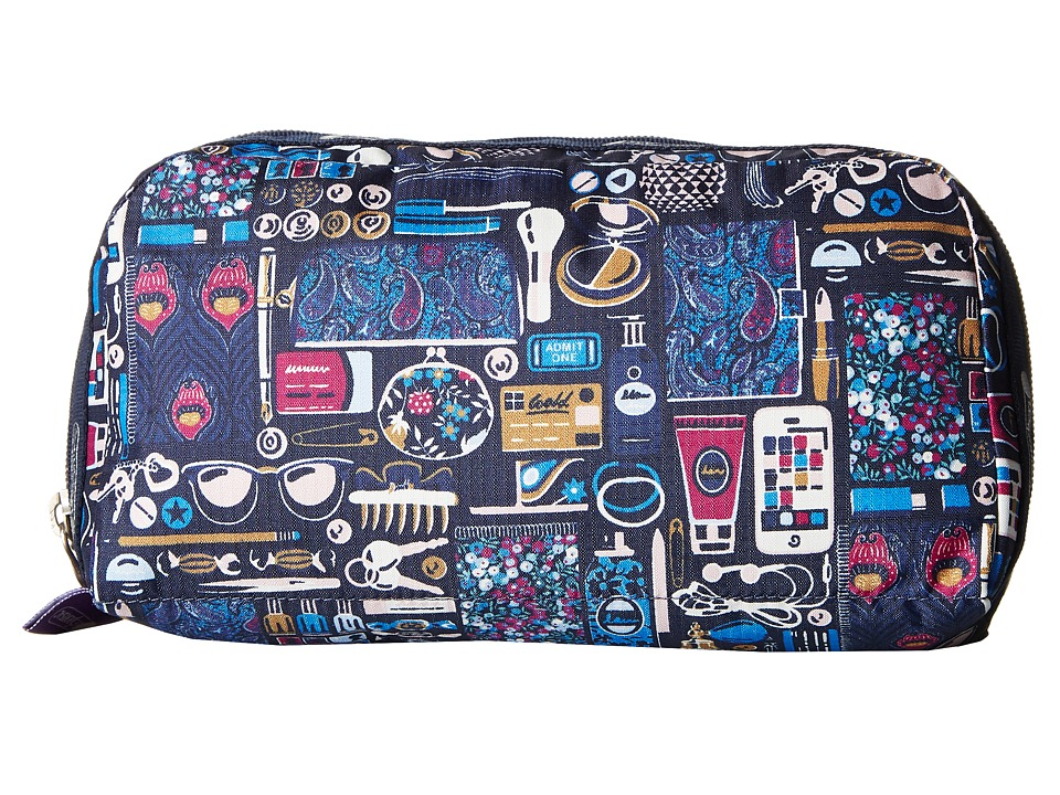 LeSportsac - Essential Cosmetic Case (Out and About Black) Cosmetic Case