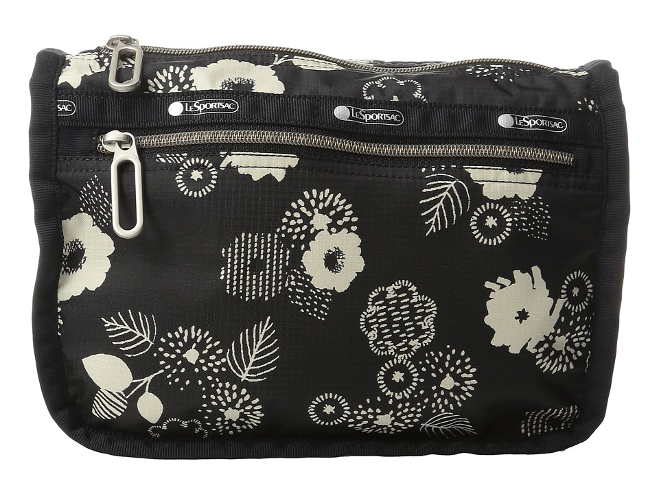 LeSportsac - Everyday Cosmetic Case (Autumn Floral Black) Cosmetic Case