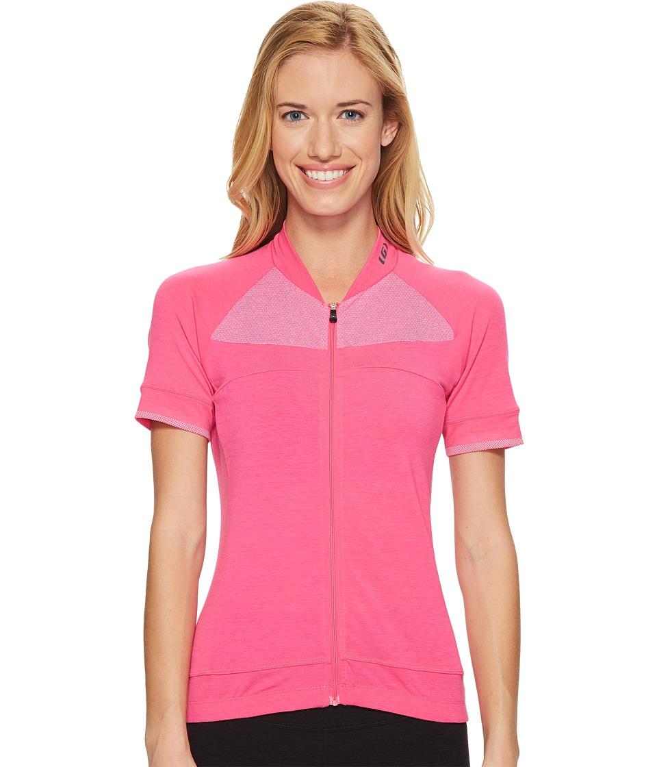 Louis Garneau - Beeze 2 Jersey (Pink Glow) Womens Clothing