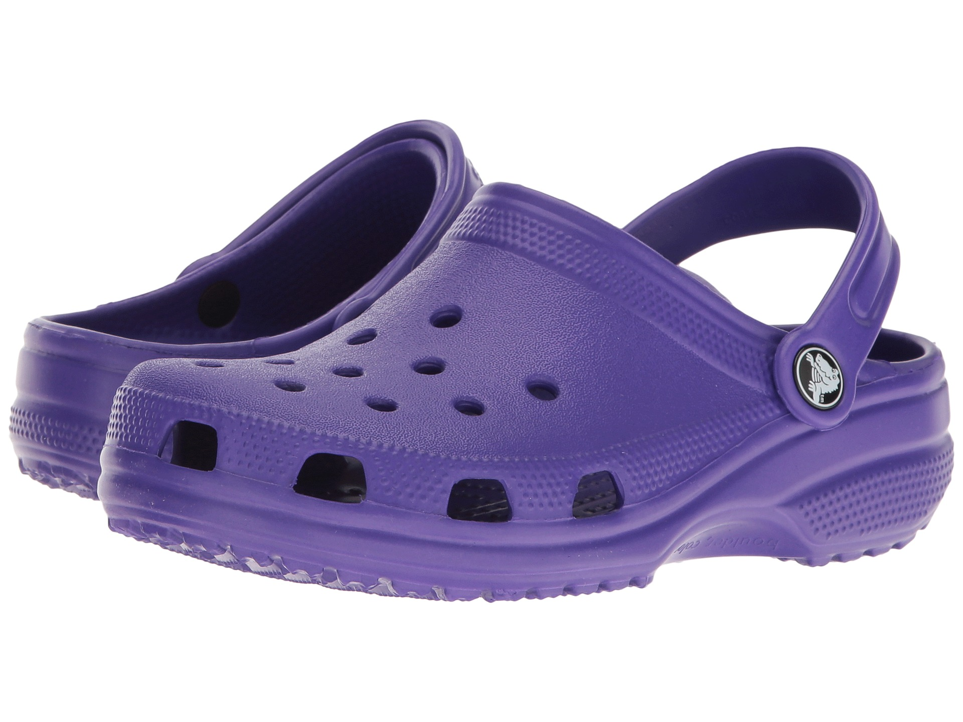 Kids can't wait to wiggle their toes inside the fuzzy, cushioned coziness of the Crocs Kids Classic Lined Graphic Clogs. Ultralight, durable Croslite™ foam construction gives them a light-as-air feel.