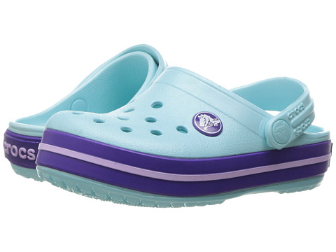 Crocs Kids Crocband Clog (Toddler/Little Kid) - Ice Blue