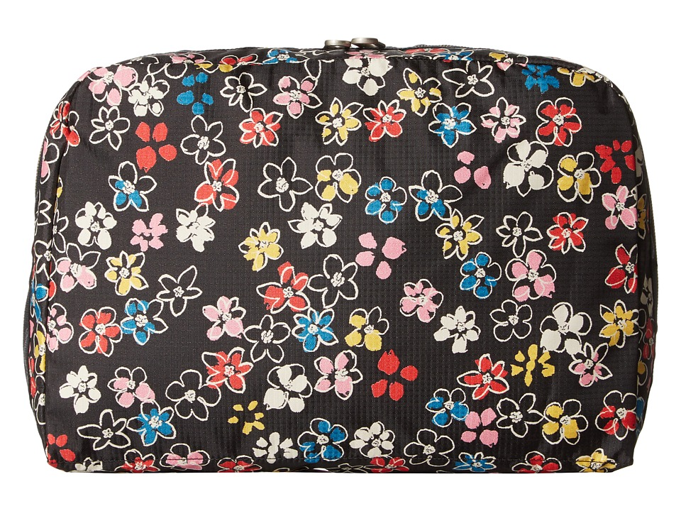 LeSportsac Luggage - XL Essential Cosmetic (Flower Burst) Cosmetic Case
